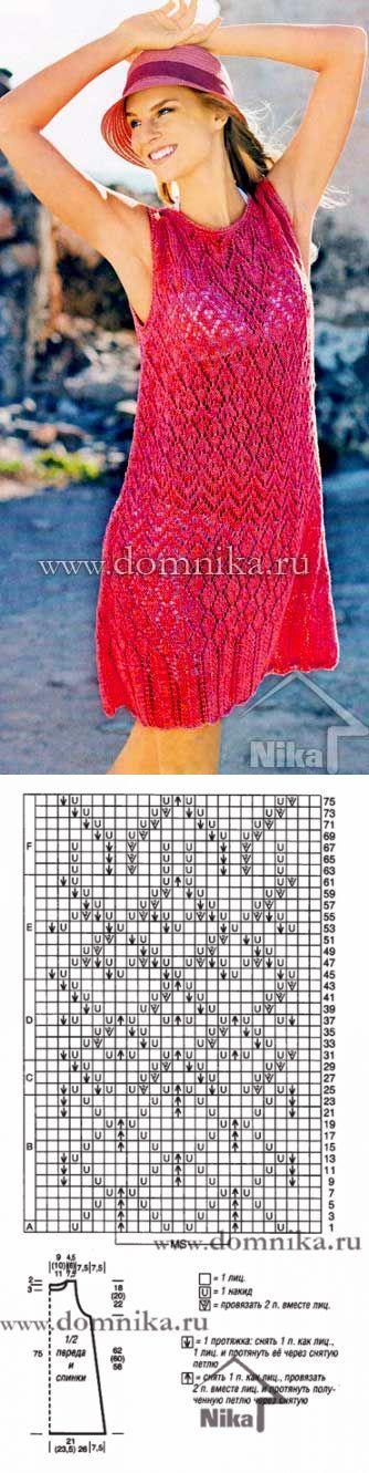 Легкое летнее красное платье...♥ Deniz ♥