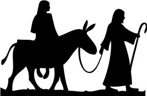 Silhouette Online Store - View Design #14023: nativity