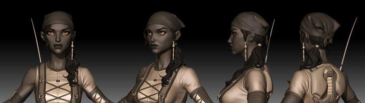 Agents of Mayhem 3D Art by Jared Trulock – zbrushtuts