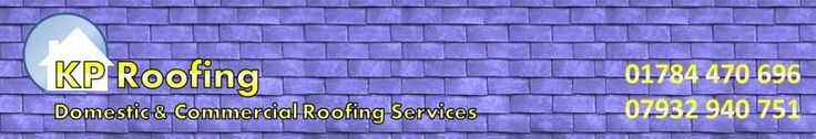 #Roofing #Companies in #Middlesex - KP Roofing provide a wide range of roofing services including roof repairs, new roof installation, flat roof repairs and new flat roofs, tiling and slating in Staines, Egham, Richmond, Twickenham, Chertsey, Hounslow, Middlesex and Surrey.