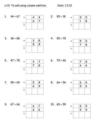 2 digit add carry both education addition worksheets worksheets math. Black Bedroom Furniture Sets. Home Design Ideas