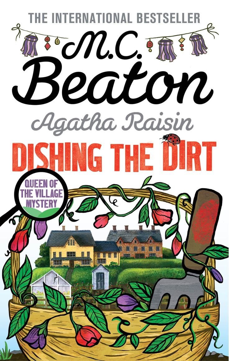 """M.C. Beaton is the most borrowed adult fiction author in the British library network. Her characters verge on caricature; the dialogue is straightforward and a little snippy."" The latest, the 26th in the Agatha Raisin series, DISHING THE DIRT, is out now from Hachette Australia Books​. Enjoy Kernel Deb's fine review. http://saltypopcorn.com.au/dishing-the-dirt/"