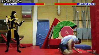 El desván del Freak: Mortal Combat casero (ANIMACIÓN)
