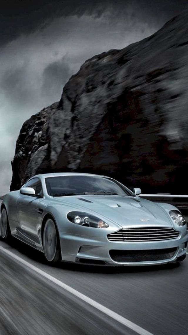 Aston Martin DBS Coupe, it's all part of the dream.