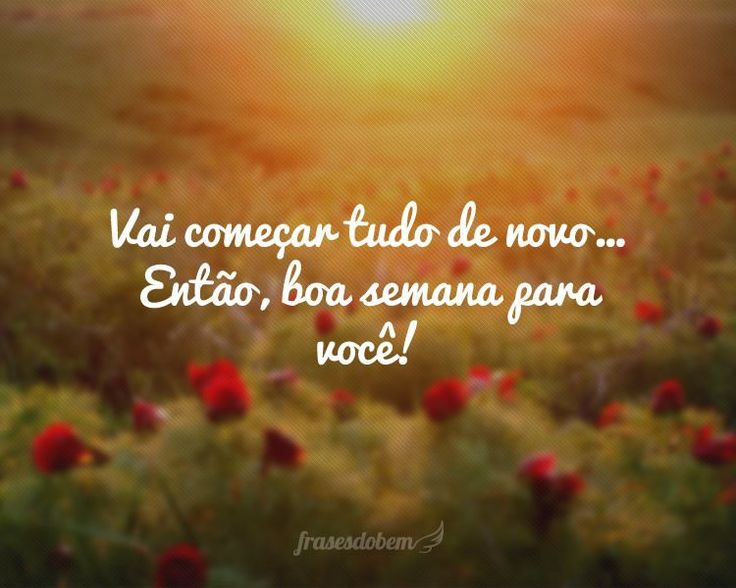 Frases De Boa Semana: 25+ Best Ideas About Boa Semana Imagens On Pinterest