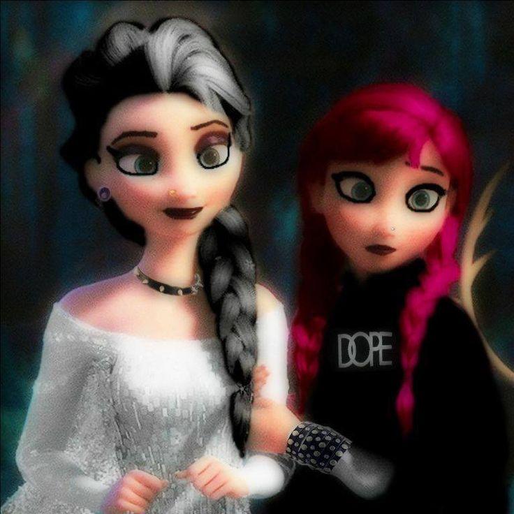 Frozen punk style :D