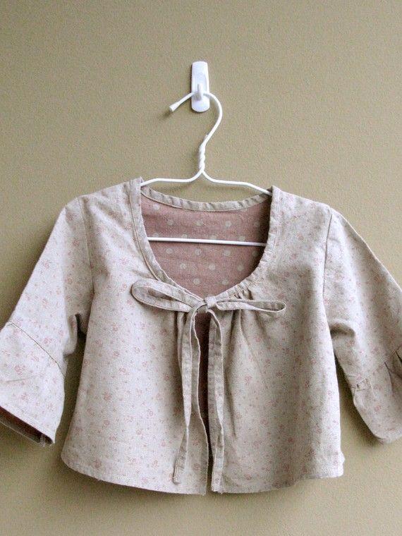 'Dolly' jacket for girls 4-10yrs by yeppar~pdf pattern