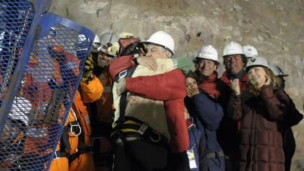 October 13, 2010: 33 Chilean miners are rescued after 69 days underground