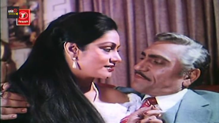 Amrish Puri With Aruna Irani Romantic Bedroom Video Hindi Movie Scenes Y...