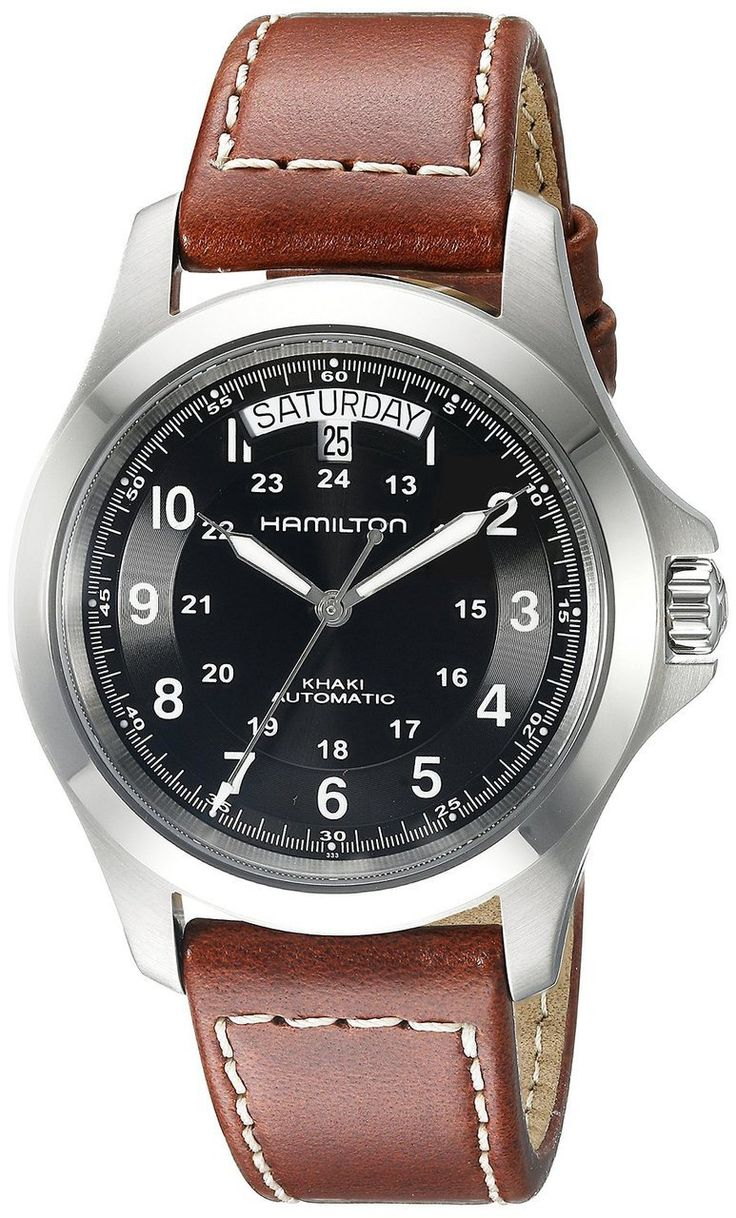Watch Direct Australia - HAMILTON KHAKI DATE AUTOMATIC LEATHER STRAP MEN'S WATCH, $680.00 (https://watchdirect.com.au/hamilton-khaki-date-automatic-leather-strap-Mens-watch.html)