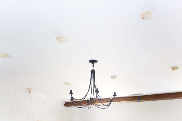 AZ Faux Beam Installation | The Lettered Cottage