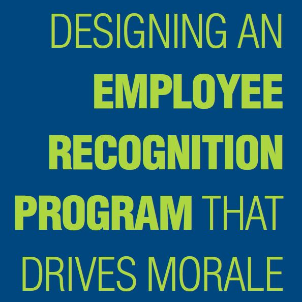 designing an employee recognition program that drives morale learn best practices for service awards