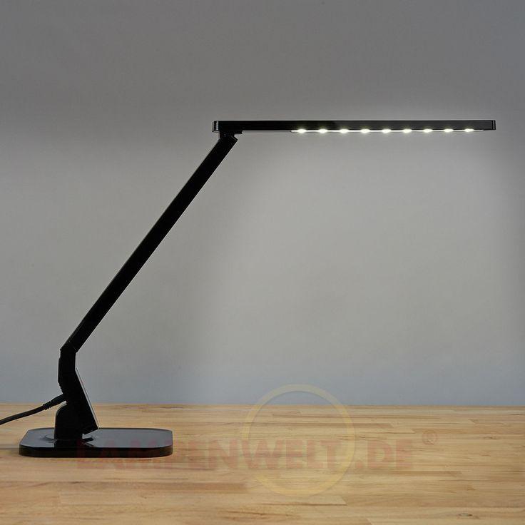Schwarze LED-Schreibtischleuchte Eleni 9950191