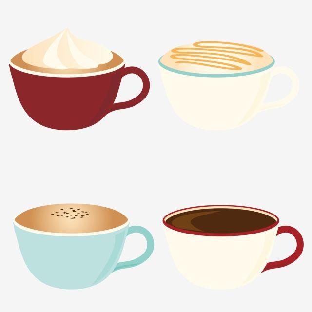 Cartoon Coffee Cup Coffee Cup Coffee Styling Vector And Png Coffee Cups Coffee Vector Coffee Cartoon