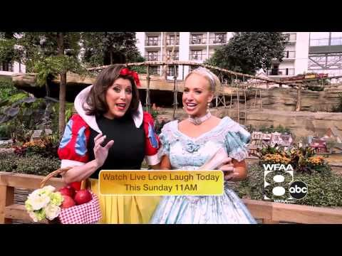 """Happy Halloween! TV Host Susie McAuley and Linda Cooper TV show """" Live Love Laugh Today"""" TV Show get ready for Halloween!"""
