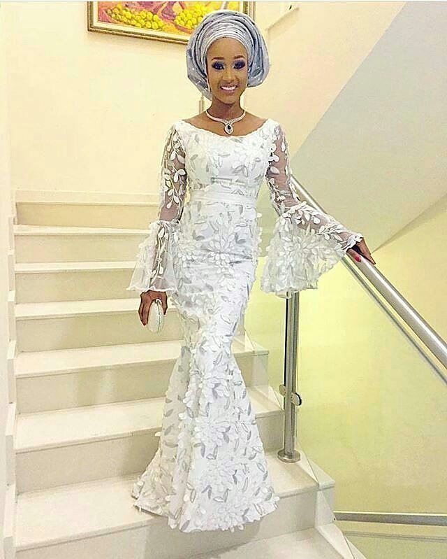 Newest Wedding Dress Styles: African Lace Styles