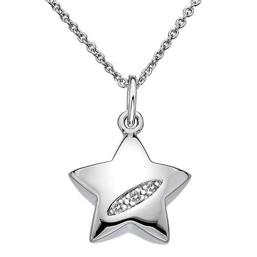 Stříbrný přívěsek Hot Diamonds Shooting Stars Star