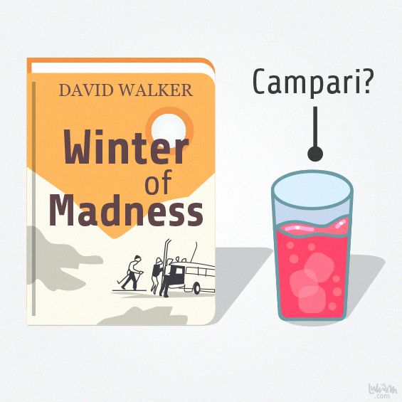 "David Harry Walker's book, ""Winter of Madness"" by Luke Seguin-Magee"