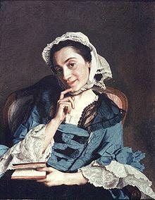 Louise Florence Pétronille Tardieu d'Esclavelles dite louise d'Epinay. Fréquentant les salons littéraires de l'époque et recevant elle-même des écrivains illustres, son amant Louis Dupin de Francueil, futur grand-père de George Sand, lui présenta, vers 1747, Jean-Jacques Rousseau avec qui elle se lia d'amitié.
