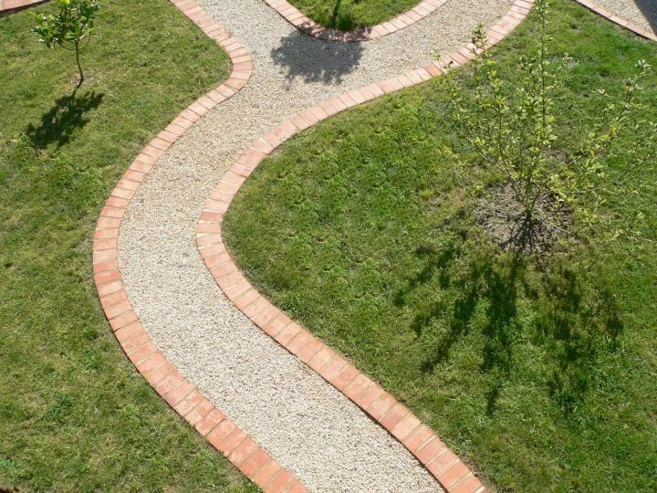 Dise o de caminos para que la energ a fluya correctamente - Diseno de patios y jardines ...