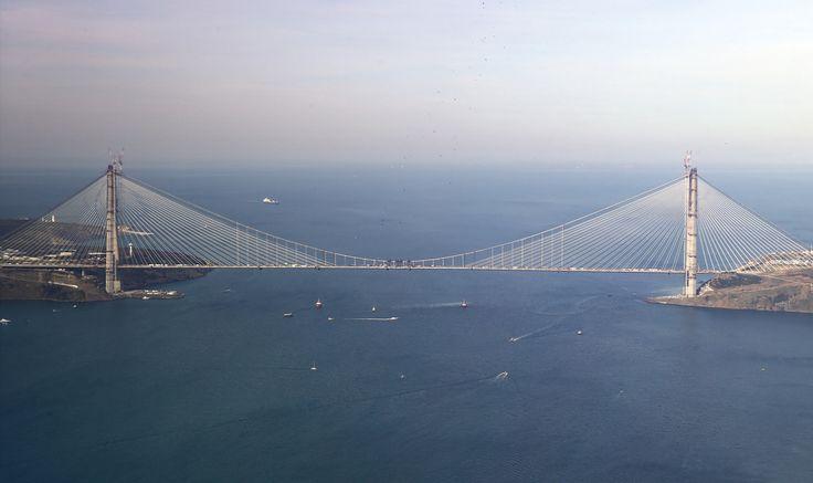 3. Köprü'de son tabliye yerleştirildi!