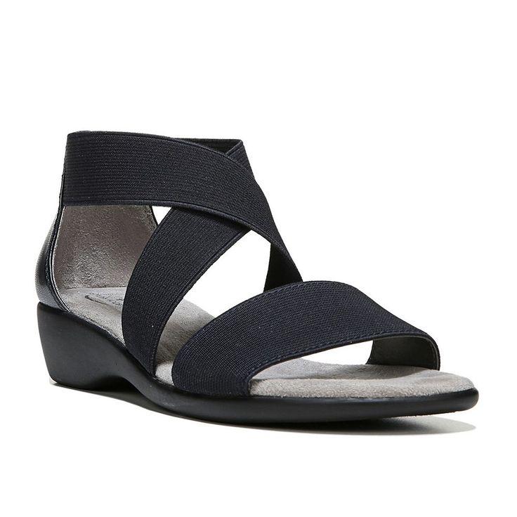 LifeStride Tellie Women's Wedge Sandals, Size: medium (8.5), Blue