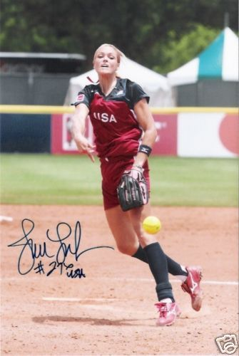 Jennie Finch :) my softball inspiration!!! ✌❤⚾