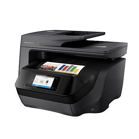 HP OfficeJet Pro 8720 All-In-One Wireless Color Inkjet Printer, Scanner, Copier, Fax, M9L74A#B1H