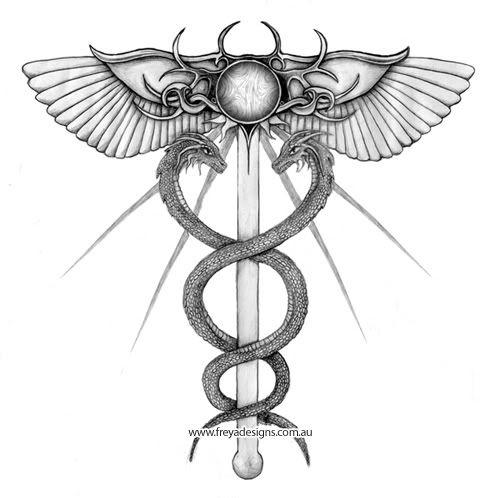 7 best caduceus tattoo images on pinterest caduceus tattoo medical tattoos and diabetes tattoo. Black Bedroom Furniture Sets. Home Design Ideas