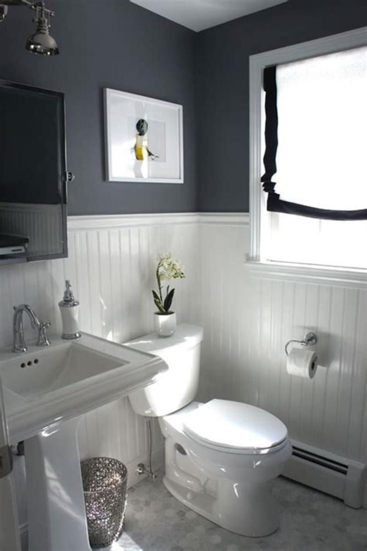 32 Best Small Bathroom Design Ideas And Decorations For 2020: 40 Best Color Schemes Bathroom Decorating Ideas On A