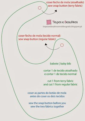 Moldes Grátis | Free Sewing Patterns: Babetes