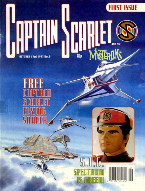 Captain Scarlet oh I remember this show
