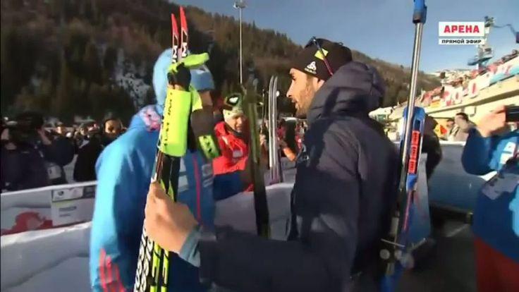 Martin Fourcade et Anton Shipulin ont semble-t-il calmé le jeu, deux jours après les incidents qui ont émaillé le relais mixte..