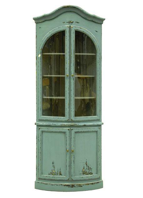 Vintage Corner Cupboard 8