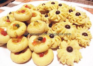 Kue Kering Semprit Susu - Resep Kue kering Indonesia