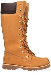 Gele Timberland kinderschoenen Girls Classic Tall L laarzen  #boots #mooieschoenen #timberland