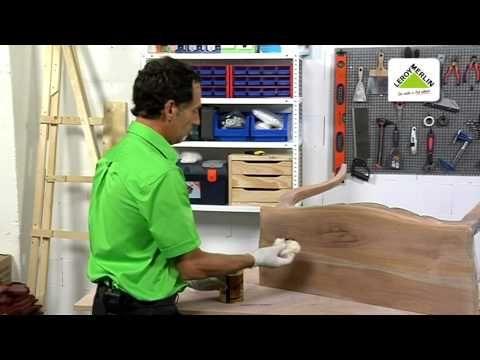 Cómo restaurar muebles de madera (Leroy Merlin)  EL CHAPUZAS EN CASA  Pinte...