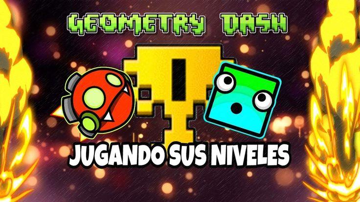 JUGANDO NIVELES DE SUSCRIPTORES EN DIRECTO!! (GEOMETRY DASH 2.11!!) || L...