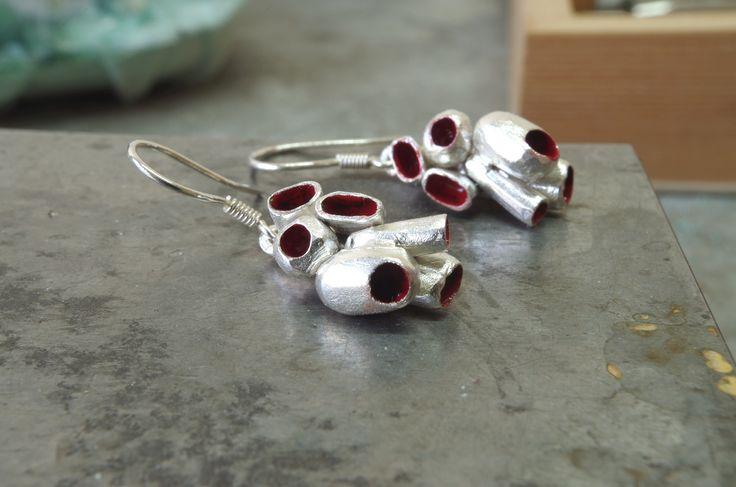Sponge Colony earrings   https://www.etsy.com/shop/SusanaTeixeiraJewels