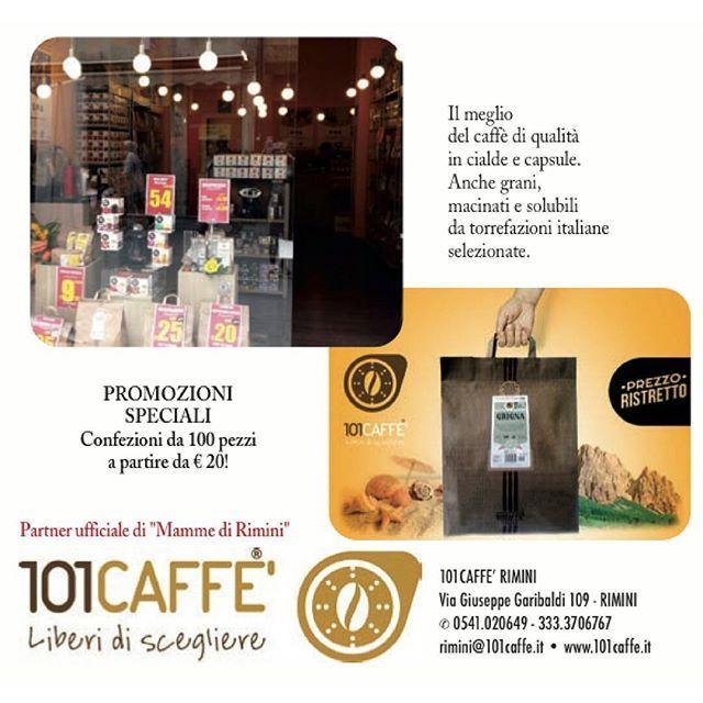 Il meglio del #caffè di qualità in cialde e capsule.  Anche grani, macinati e solubili da torrefazioni italiane selezionate.  PROMOZIONI SPECIALI  Confezioni da 100 pezzi a partire da € 20!  Partner ufficiale #MammediRimini  101CAFFE' RIMINI  Via giuseppe garibaldi 109 - #RiminI ✆ 0541.020649 - 333.3706767  rimini@101caffe.it • www.101caffe.it  #Abirò #annuncirimini #abitareromagna #vivorimini #vivoemiliaromagna #riccione #santarcangelo #loves_emiliaromagna #picoftheday #followme #like4like…