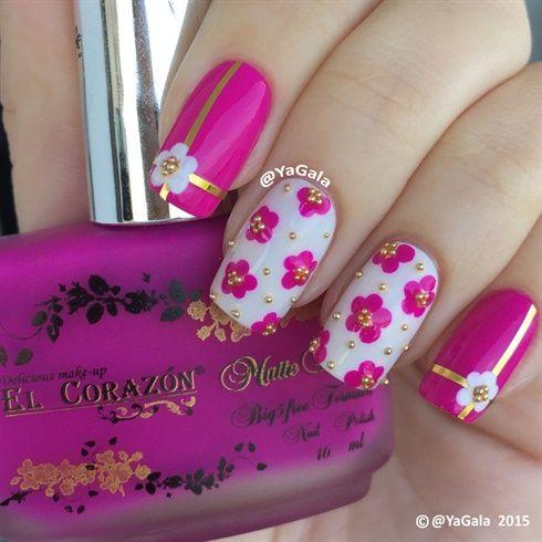 Simple Design  by Yagala - Nail Art Gallery nailartgallery.nailsmag.com by Nails Magazine www.nailsmag.com #nailart