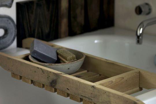 bath caddy creation recup pinterest caddie de bain et salle de bain. Black Bedroom Furniture Sets. Home Design Ideas