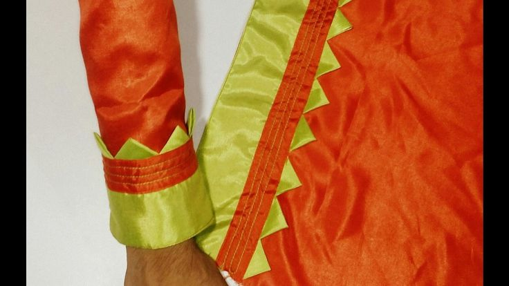 Kameez Sleeves Designs Cutting & Stitching/Suit baju Cutting and seWing