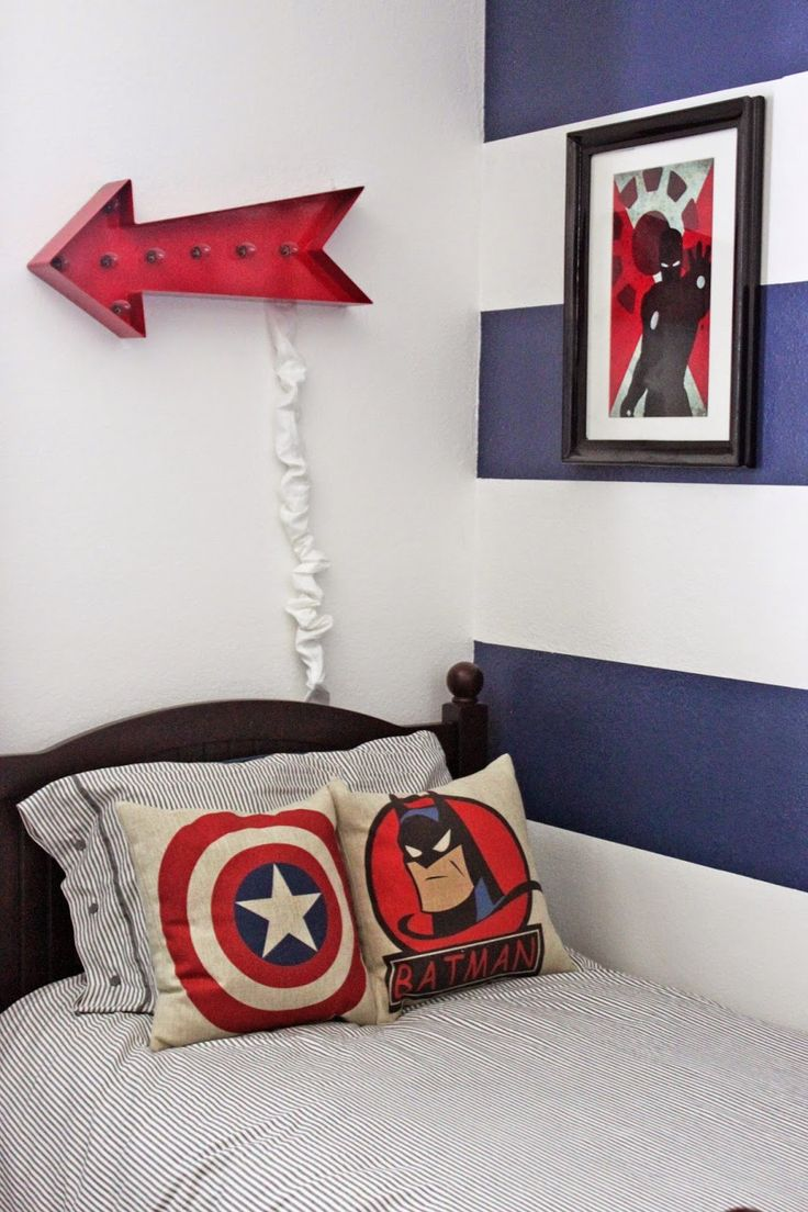 Marvel Themed Room Mesmerizing Best 25 Superhero Boys Room Ideas On Pinterest  Superhero Room Inspiration Design