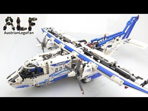 Lego Technic 42025 Cargo Plane - Lego Speed Build Review - YouTube