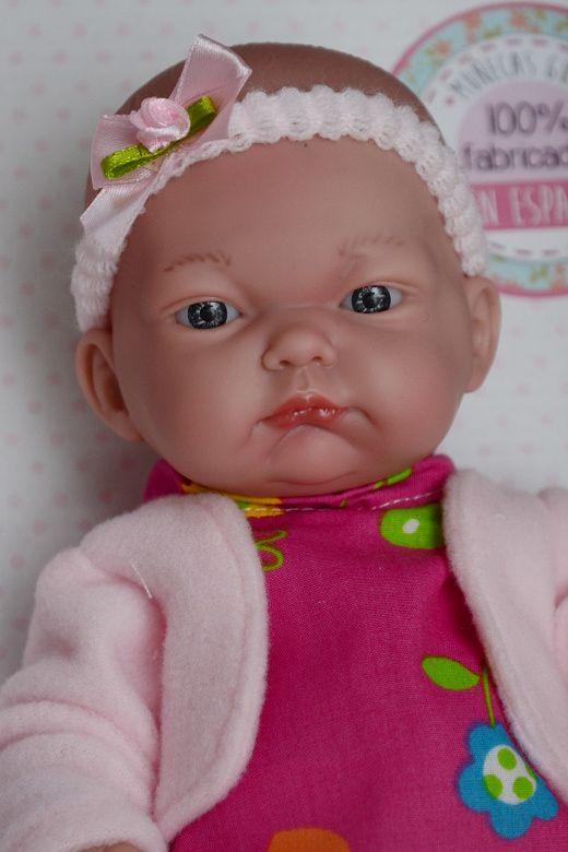 Realistická panenka Jituška od firmy Guca ze Španělska