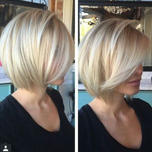 So pretty! Love the color and cut!