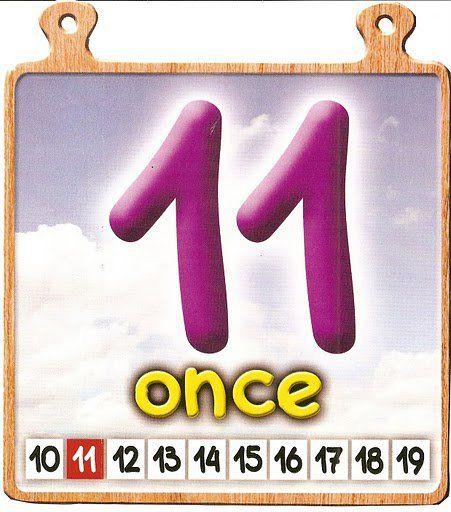 Los Números Del 11 Al 20