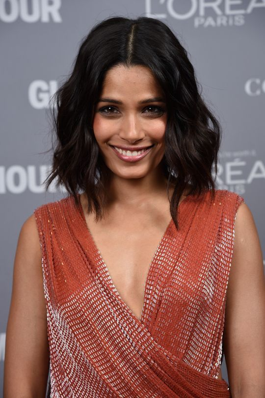 Freida Pinto at Glamour's Women of the Year