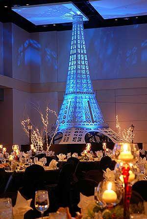 Paris Eiffel Tower Moulin Rouge Theme Party Decor Al